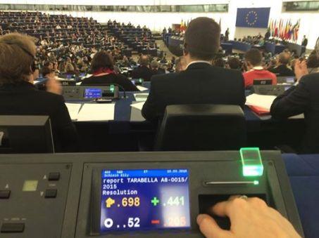 Foto Parlamento Strasburgo