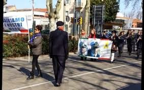 Manifestazione 8 marzo Imola pro Marò