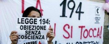Manifestazione a favore della 194