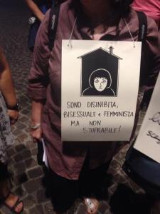 Disinibite, Bisessuali e Femministe Firenze 28 luglio 2015