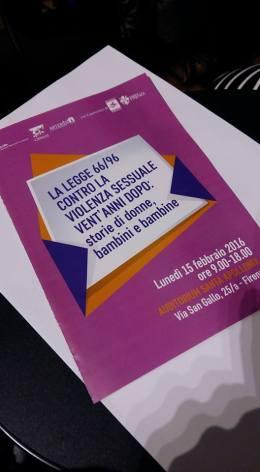 La legge 66 contro la violenza sessuale venatnni dopo - storie di donne, bambini e bambine