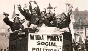 Foto storica Suffragette
